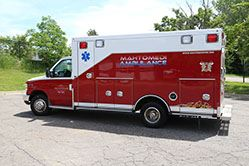 Ambulance 851 Driver Side