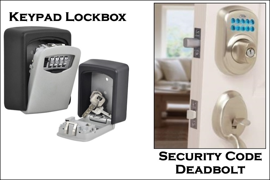 Security Code Deadbolt Lockbox (IMAGE)