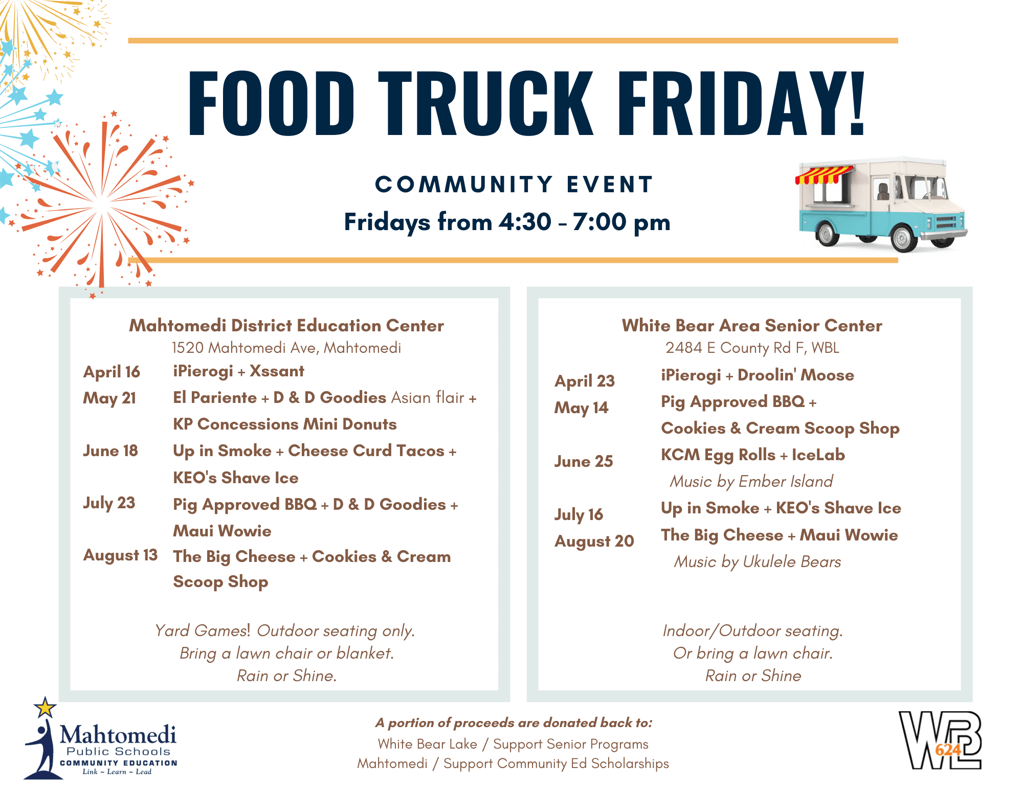 Mahtomedi Food Truck Flyer (IMAGE)