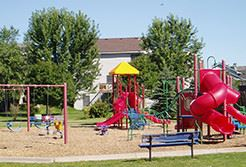 Colorful Childrens playground